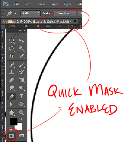 How to Use Quick Mask Mode in Photoshop